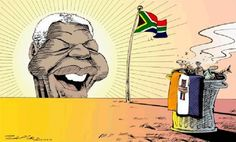 ZAPIRO's famous political cartoon which welcomed the dawn of the Mandela Presidency in South Africa on April Mandela Art, Nelson Mandela, News South Africa, Freedom Day, Poster Drawing, Out Of Africa, Dutch Artists, Political Cartoons, Politics