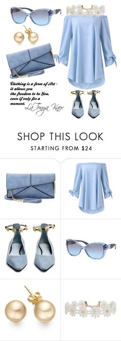 """""""It's OK to Be Blue"""" by latonyasfashions on Polyvore featuring Mellow World, Fabrizio Viti, Ralph by Ralph Lauren, Humble Chic and plus size dresses"""