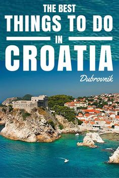 Dubrovnik, The 'Pearl of the Adriatic'. It draws in thousands of people, and if you're soon to be one of them here are our local tips for things to do in Dubrovnik, Croatia.
