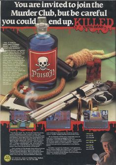 Killed Until Dead advert.