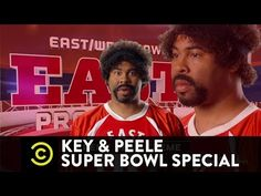 NFL Players Star in Key & Peele's Latest Batch of Funny 'East/West Bowl' Names || A.A. Ron Rodgers = sploosh