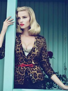 Favourite Editorial - Lara Stone by Mert & Marcus for Vogue US September 2010, styled by Grace Coddington