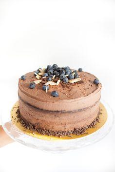 Vegan Chocolate Cake by Cake Me! Oslo  www.facebook.com/cakemeoslo