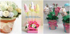 Cómo hacer centros de mesa decorativos para baby shower