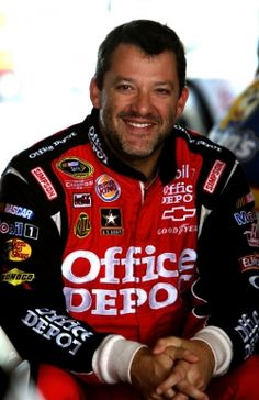 Nascar 3 time Champion, Tony Stewart