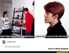 Hahahaha maknae, that's why I love him XD