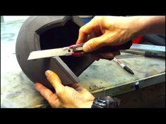 How To Make A Foam Helmet Part 2