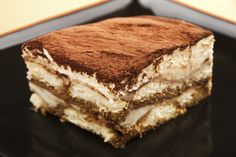 Tiramisu Recipe ~ Easy Dessert Recipes, minus the alcohol :) Italian Desserts, Köstliche Desserts, Delicious Desserts, Dessert Recipes, Cake Recipes, Yummy Food, Italian Tiramisu, Health Desserts, Plated Desserts