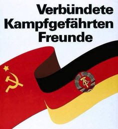 East german-soviet propaganda