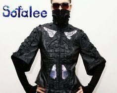 fashionable leather jacket 03