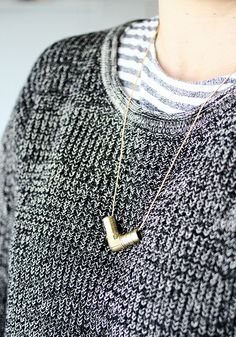 diy hardware store necklace from AMM