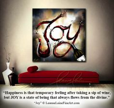 """Joy"" by wine artist © Leanne Laine Fine Art #wineart #winepainting"