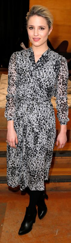 Dianna Agron's Sundance looks are totally wearable.
