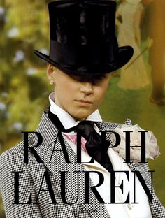 Ralph Lauren Collection Ad Campaign Spring/Summer 2008 Shot #1