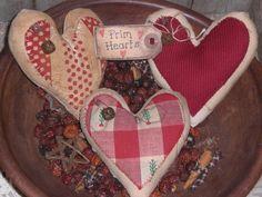 primitive valentine decor | 2010Jan11a007 Are you ready for a Primitive Valentines Day?