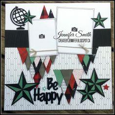 Be Happy by Jennifer Smith. CTMH Jack