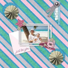 Beautiful layout by Sue G from Australia using U R U by @theautumnowl http://www.mymemories.com/store/display_product_page?id=VLRK-CP-1506-87591 #aodlayout #digiscrap #beach #digitalscrapbooking #scrapbook