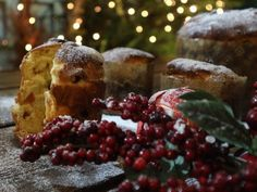 The recipe of the day: Panetone Greek Recipes, Recipe Of The Day, Baked Potato, Muffin, Fruit, Breakfast, Ethnic Recipes, Desserts, Food