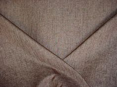 5+y LUXURIOUS DONGHIA GOLD / ESPRESSO HEAVY LINEN STRIE UPHOLSTERY Fabric