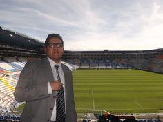 Las fotos en los estadios nunca me dejarán de encantar. Aquí en el Estadio Hidalgo donde hace de local el Pachuca mexicano / #viajes #travel #viajesmuseo #traveller #travelling #vacation #placestovisit #trips #stadium