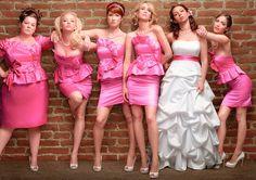 Atractivos Los más Bellos Vestidos para Damas de una Boda