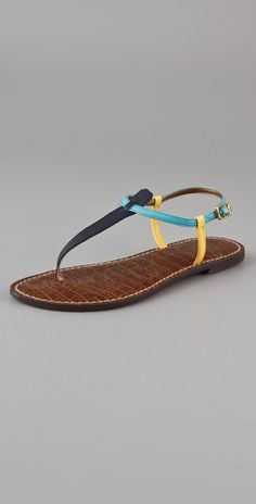 T Strap Flat Sandals, simple and cute!