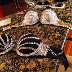 DIY rave bras