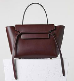 Celine-Small-Belt-Bag-Burgundy