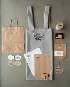 Beautiful and Inspiring Visual Identity Projects - Web Design Ledger - backerei Café Branding, Restaurant Branding, Coffee Branding, Restaurant Design, Restaurant Aprons, Bakery Branding, Brand Identity Design, Corporate Design, Branding Design
