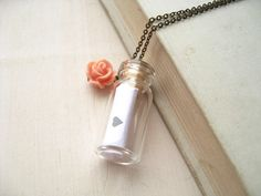 Love letter in a bottle - Carta de amor en una botella