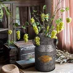 Rustic vases are fun to decorate and beautiful to look at when entering a room. They will add color, texture and warmth to any space. Shop our large variety and find the rustic vase that is perfect for you. Flower Centerpieces, Flower Vases, Fresh Flowers, Artificial Flowers, Planter Pots, Rustic Vases, Display, Texture, Elegant