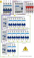 Distribution Board Wiring Diagram. Electrical