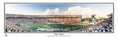 Miami Hurricanes Orange Bowl Panoramic Poster