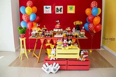 Mickey Mouse Kidsparty Party Ideas | Photo 4 of 9