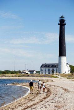Sõrve lighthouse, Saaremaa island, Estonia