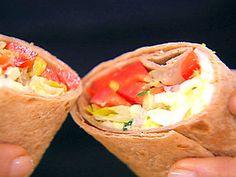 L.O.V.E. Wrap Sandwich (Lettuce, Onion, Vegetable, Egg Salad)