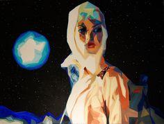 Astro acrylic on canvas