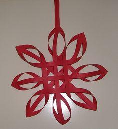 enkelvoudige kerstster  mooi!