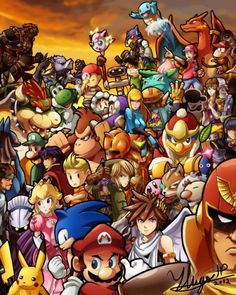 """""""Super Smash Bros. Brawl"""" by Nintendo for the Wii."""