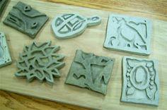 Clay Trivet/Tile Lesson | Art Lesson Plans