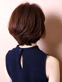 79 short bob hairstyles for the modern woman - Hairstyles Trends Asian Short Hair, Asian Hair, Girl Short Hair, Short Curly Hair, Short Hair Cuts, Short Hair With Layers, Layered Hair, Short Bob Hairstyles, Trendy Hairstyles