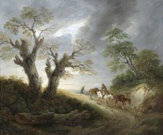 Landscape, by Thomas Barker ~ late 18th / early 19th century