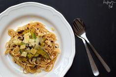 Špagety s cuketou a parmezánem
