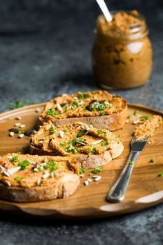 #Vegan This Vegan Pate would make a perfect appetizer for a dinner party!