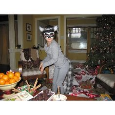 Lemur costume for halloween! hahahahahaha @Greca Cortes