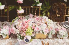 lush wedding floral arrangements