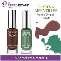 Testez 2 vernis Contes & Merveilles de Dr Pierre Ricaud