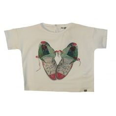 So Twee by Miss Grant Girls White T-Shirt With Sneaker Print