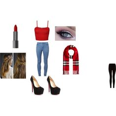 """""""christmas eve party"""" by leticiacamacho on Polyvore"""