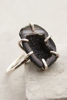Geode Shimmer Ring #Anthropologie